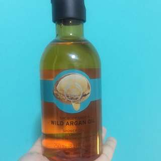 The Body Shop Shower Gel - Wild Argan Oil