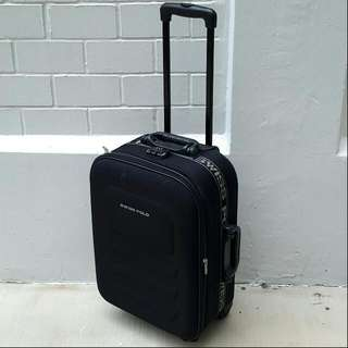 "(*defects) Swiss Polo 22"" Cabin Luggage Bag"