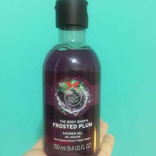 The Body Shop Shower Gel - Frosted Plum
