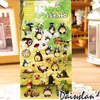 My Neighbor Totoro Japan Anime Sticker Sheet