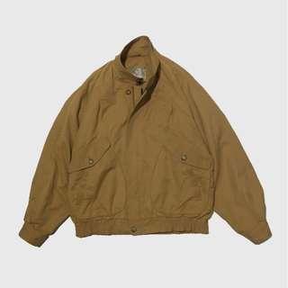 Vintage sand bomber jacket