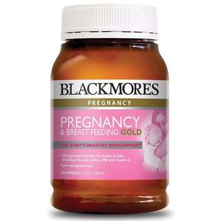 ✨Blackmores Pregnancy and Breastfeeding Gold