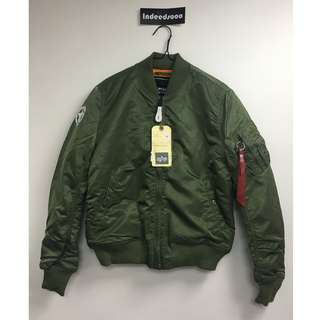 Alpha Industrial MA-1 VF Army Green