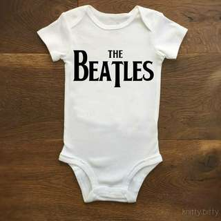 Baby rompers the beatles