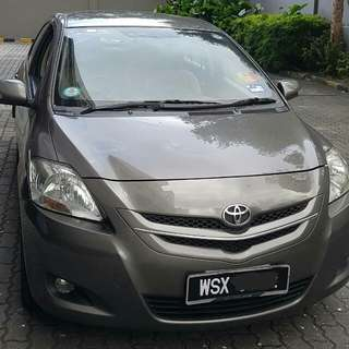 Toyota Vios 1.5E auto for sale
