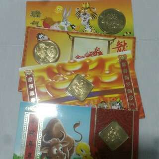 Uncirculated Hongbao Set - Cartoon Series