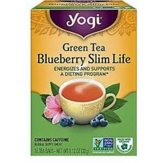 Blueberry Slim Life Tea Yogi