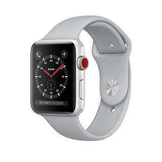 Apple Watch Series 3 42mm (GPS + Cellular) in Fog