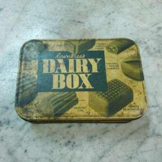 England Rowntree's Dairy Tin Box Vintage