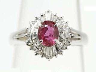 🎉红宝石钻石戒指[色] 💝