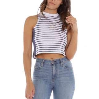 Stussy Cropped Sleeveless Shirt