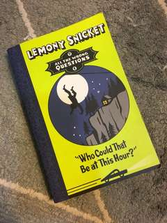 BUKU NOVEL Lemony Snickett