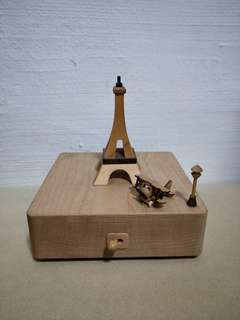 Wooden musical box