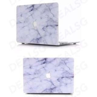 Macbook casing marble white