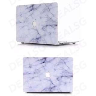 Macbook casing marble white