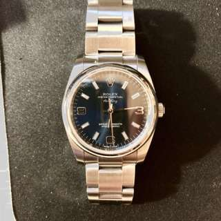 Rolex 114200 Air King blue color 34mm