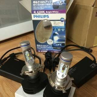 Philips h4 led