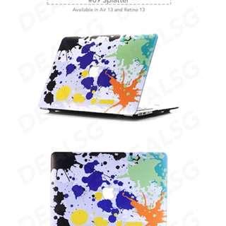 Macbook casing water colour design