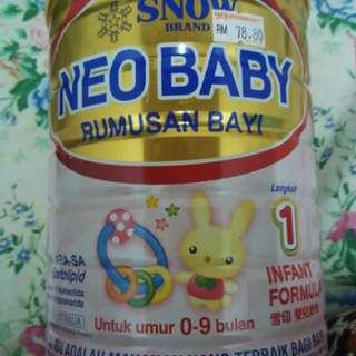 Snow neo baby milk
