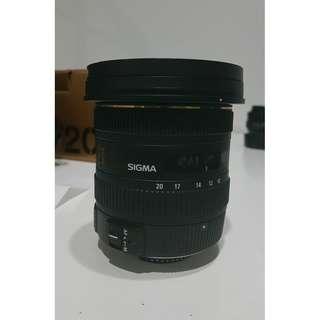 Sigma 10-20mm f/3.5 for Nikon