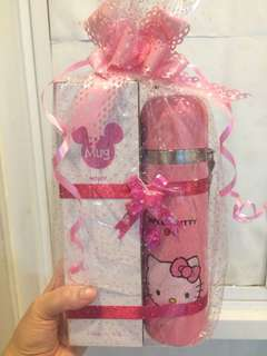 Botol thermos hello kitty