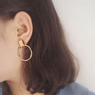 Audrey Gold Drop Earrings