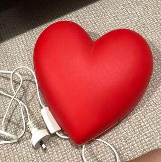 Ikea love heart wall lamp