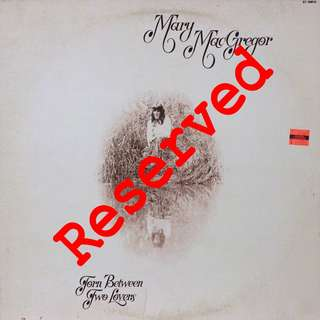 mary mcgregor, Vinyl LP, used, 12-inch original pressing