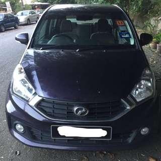 (For Rent) Perodua Myvi 1.3 (A) Premium X