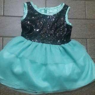 NEW dress anak  1-2y