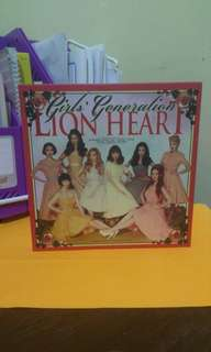 Girl's Generation Lion Heart 5th Album