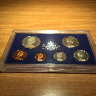 1978 Australian Proof Coin Set - Royal Australian Mint