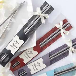 Wedding Door Gifts - Chopsticks Two-piece Box
