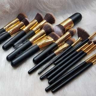 17pcs Makeup Brush Set