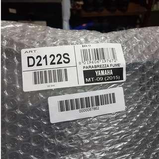 GIVI D2122S Windscreen Yamaha MT-09 Tracer 2015 - 2017