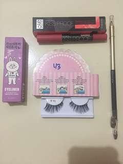 1 paket make up for eyes look