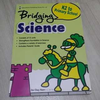 K2 To Primary School Bridging Science