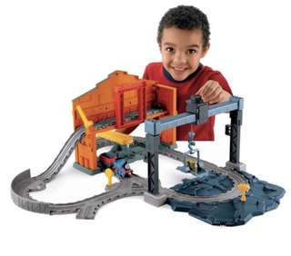 Fisher Price Thomas & Friends Take n Play Slate Loading Station