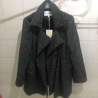 🚚 OB毛呢大衣外套