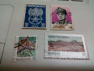 Malaysia Stamps with 1 fault #M181