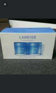 BNIB - Laneige Water Sleeping Mask Duo