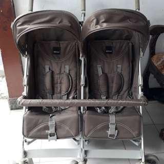 PRELOVED stroller BABY ELLE TREVI TWIN