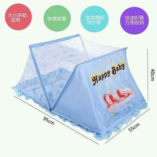 Baby Bed with Foldable Net