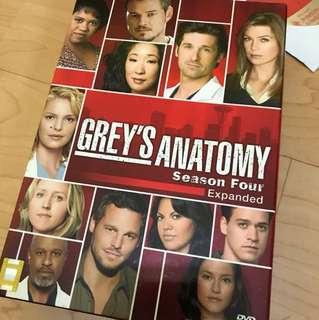 Grey's anatomy season 4 collectible box set