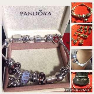 Pandora Bracelet w/ charms-ORIG
