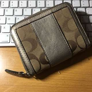 Coach Leather wallet 女裝銀包