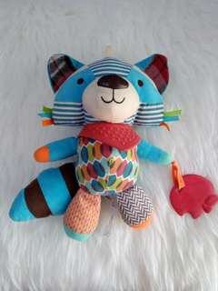 Boneka Rattle Skiphop Fox #maumothercare
