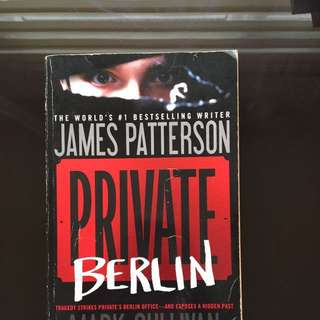 Bundle: James Patterson Private Berlin And Private Games