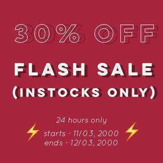 EXTENDED: 30% OFF FLASH SALE | COLOURPOP