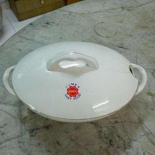 Dumex Porcelain Tureen Casserole Vintage 3
